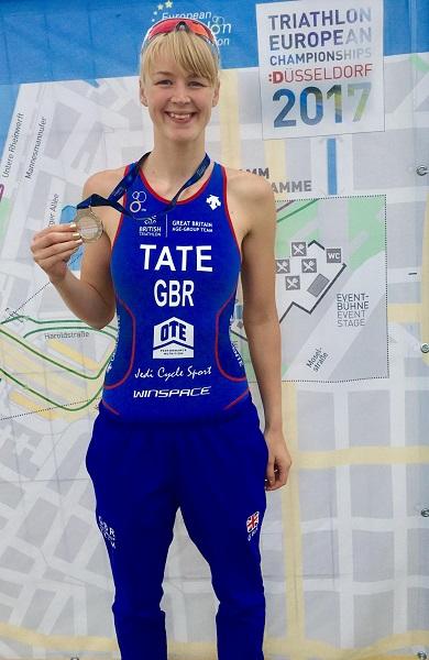 BCOM Student Triathlon Champion