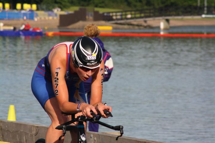 Triathlon success for BCOM student