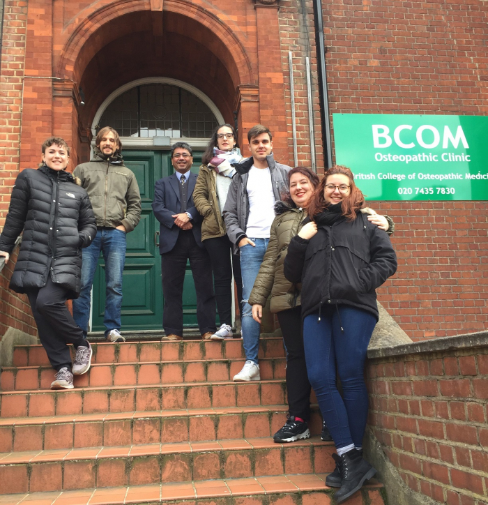 Student Visitors from Madrid