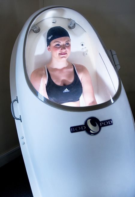 Test your fitness with a BodPod body composition measurement