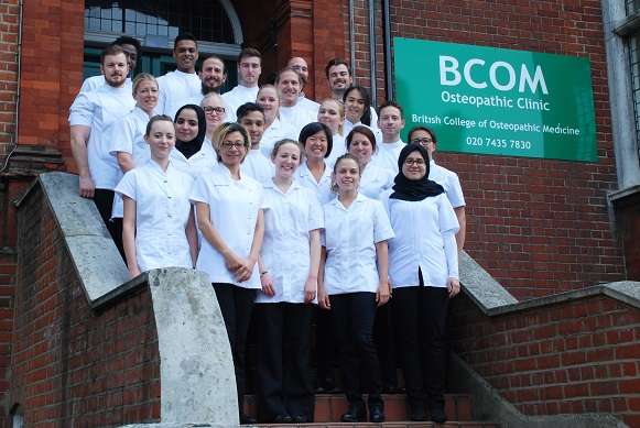 Apply now for the Osteopathy Degree at BCOM starting September 2017