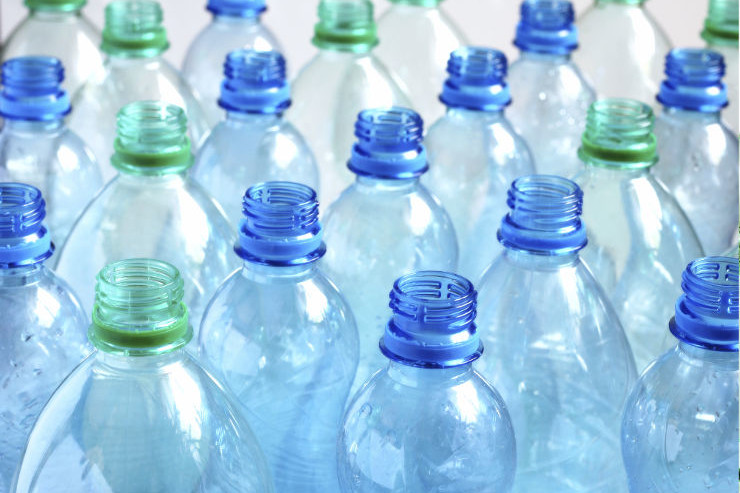 What happens to plastic bottles at BCOM