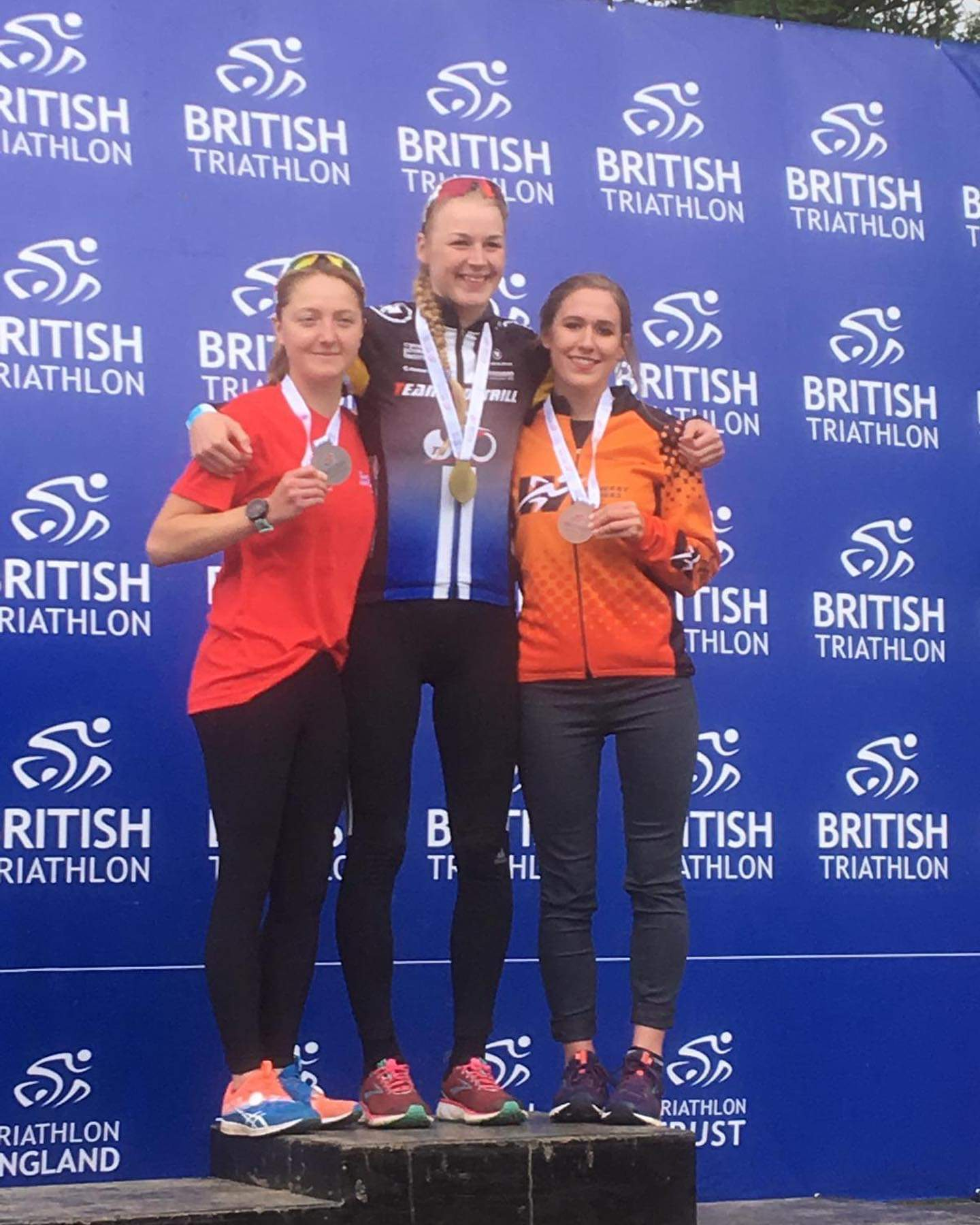 BCOM student becomes triathlon champion