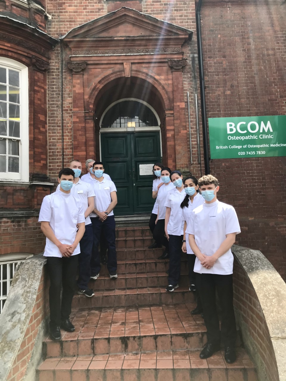 Physiotherapy students start their placement at BCOM